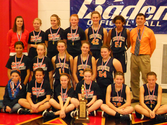 2012 - Class L Girls Basketball 2nd Place - Carterville