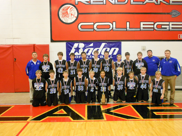 2012 - Class M Boys Basketball 2nd Place - Aviston