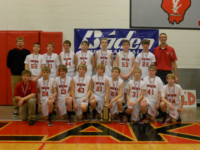2012 - Class S Boys Basketball 2nd Place - Germantown