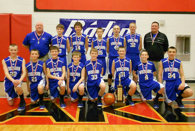 2013 Boys Basketball Class S Champion - Woodlawn