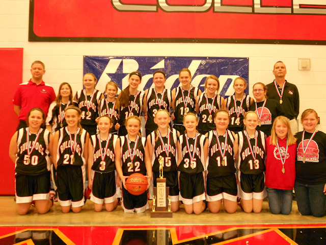 2013 Class S Girls Basketball 1st - Germantown