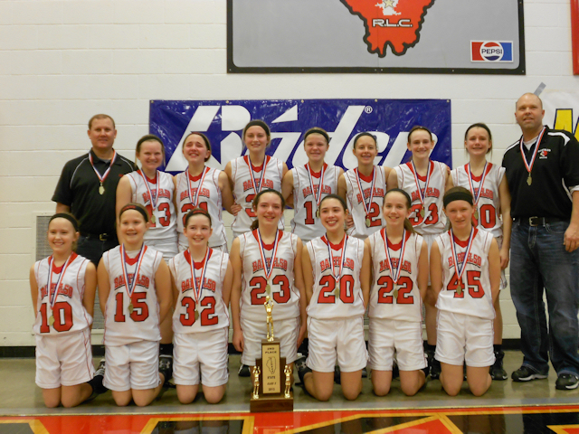 2013 Class S Girls Basketball 2nd - Bartelso