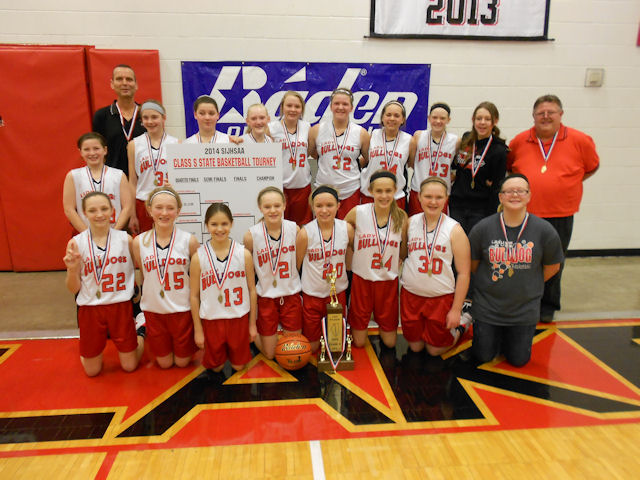 2014 Class S Girls Basketball 1st - Germantown