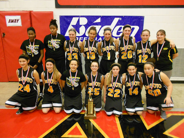 2014 Class S Girls Basketball 2nd - Desoto