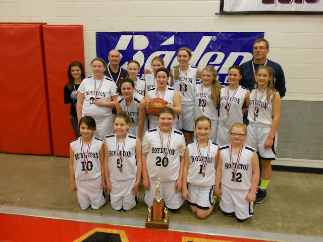 2014 Class S Girls Basketball 3rd - Hoyleton Co-op