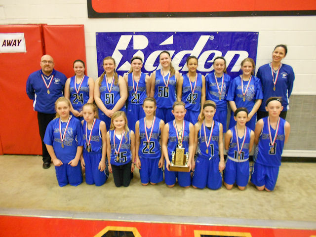 2014 Class S Girls Basketball 4th - Lick Creek