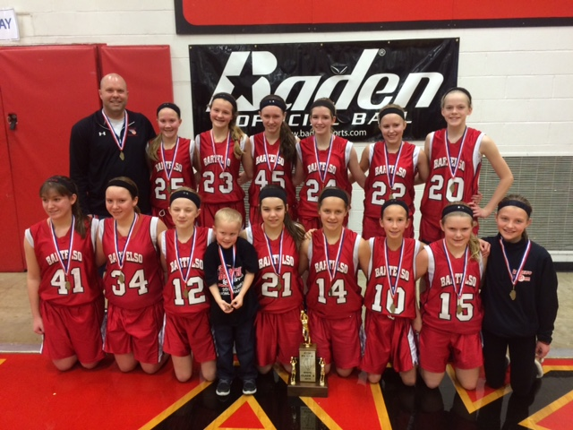 2015 Class S Girls - 4th Bartelso