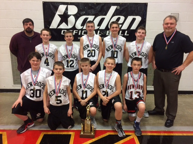 2016 Boys Basketball Class S 4th New Hope