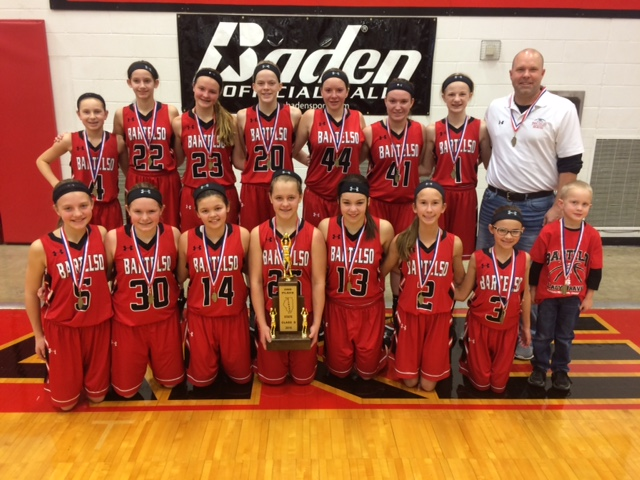 2016 Girls Basketball Class S 2nd Place Bartelso