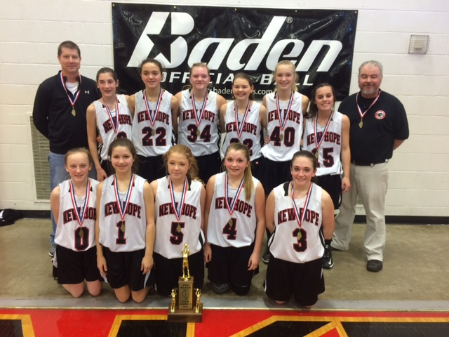 2016 Girls Basketball Class S 4th Place New Hope