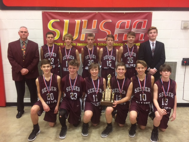 2017 Boys Class M Basketball 3rd Place - Sesser-Valier