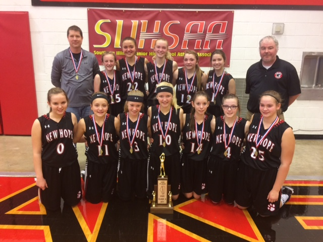 2017 Girls Class S Basketball 2nd Place New Hope