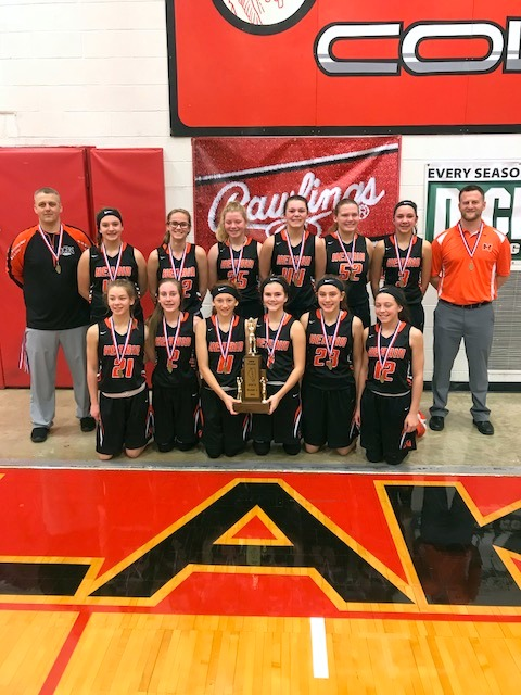 2nd L Girls BB Herrin