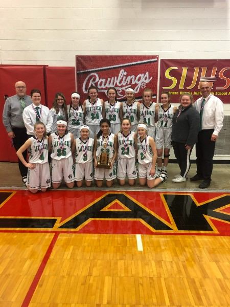 Class L Girls Basketball Hamilton County 4th