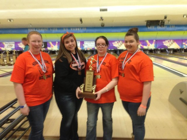 2nd Girls Bowling Herrin Middle School