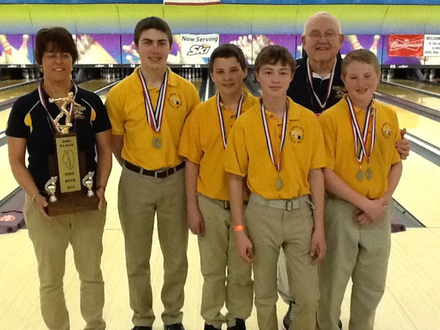 2nd Place Bowling - Fulton-OFallon