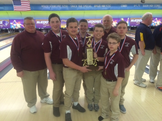 2016 Boys Bowling 2nd Collinsville