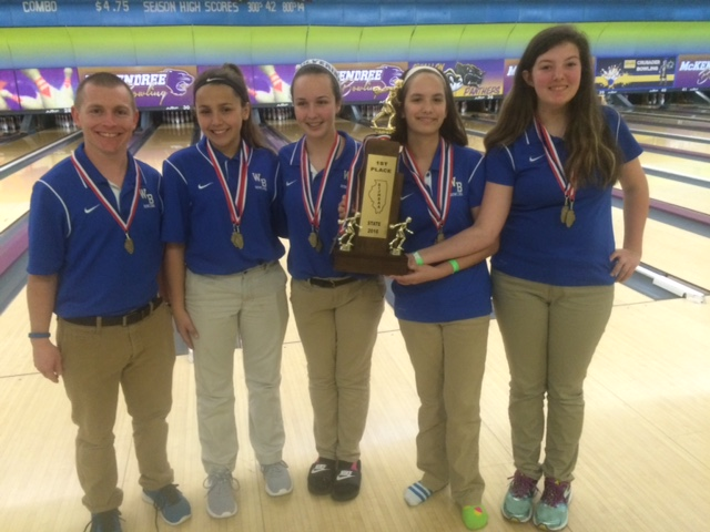 2016 Girls Bowling Champions Wolf Branch
