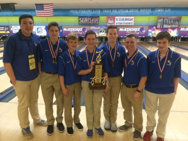 2017 Boys Bowling 2nd Place - Wolf Branch