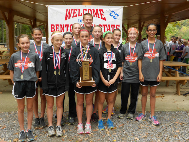 2012 Class L Girls XC-2nd Place-Waterloo