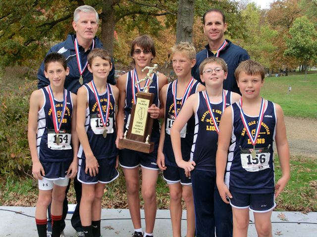 2012 Class S Boys XC-1st Place-Maryville Christian