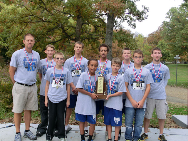 2012 Class S Boys XC-2nd Place-Nashville
