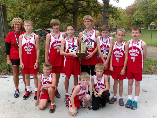 2012 Class S Boys XC-4th Place-Pickneyville 204