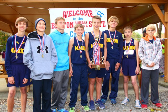 2014-Class-L-Boys-Cross-Country-2nd-Place-Marion