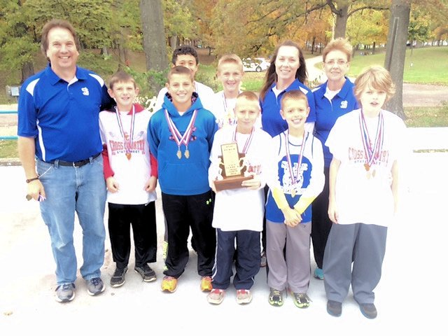 2014-Class-S-Boys-Cross-Country-4th-Place-St-Joseph-Olney