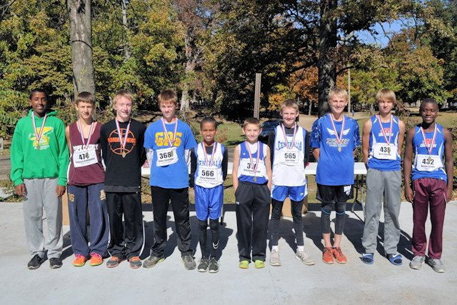 2015 Class S Cross Country Boys Top 10