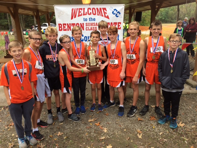 2016 Boys Class L Cross Country 2nd - Waterloo