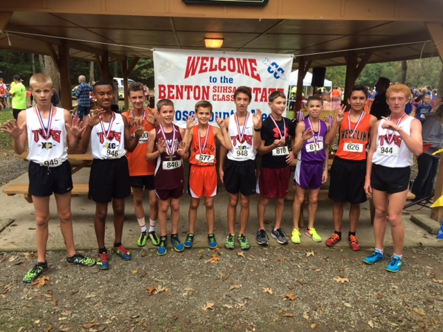 2016 Boys Class L Cross Country Top 10