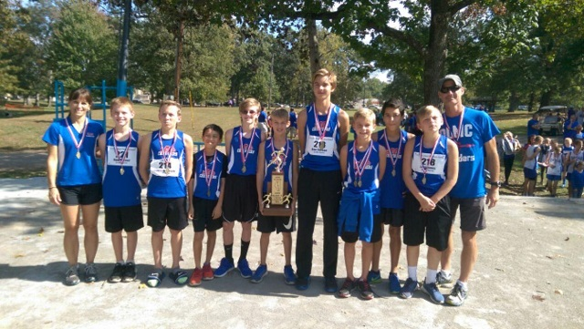 2016 Boys Class S Cross Country 2nd Place - OLMC - Herrin