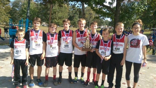 2016 Boys Class S Cross Country 4th Place - Wayne City