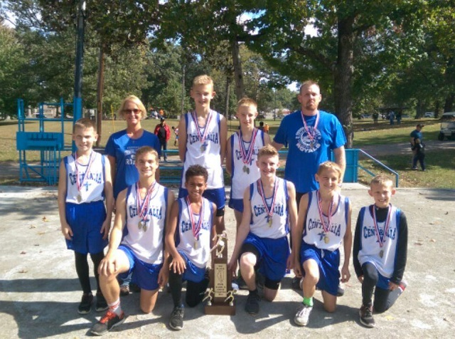 2016 Boys Class S Cross Country State Champions - Trinity Lutheran - Centralia