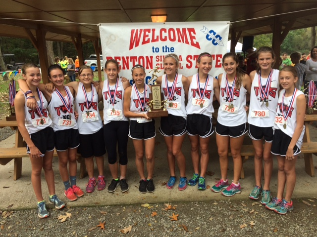 2016 Girls Class L Cross Country 2nd - Triad