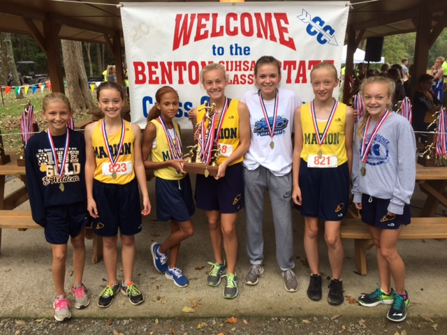 2016 Girls Class L Cross Country 4th - Marion