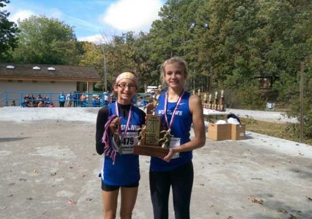 2016 Girls Class S Cross Country 4th Place - Woodlawn