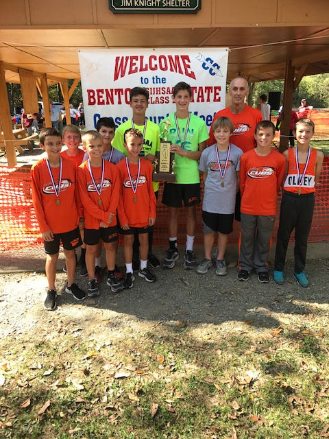 2017 Class L Boys Cross Country State 2nd Place - Olney