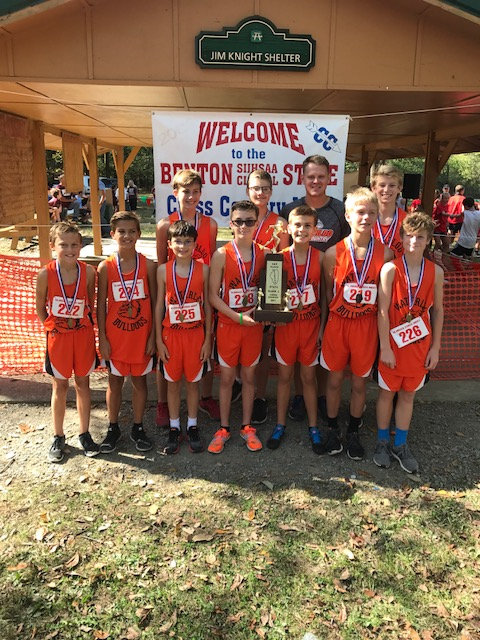 2017 Class L Boys Cross Country State Champions - Waterloo