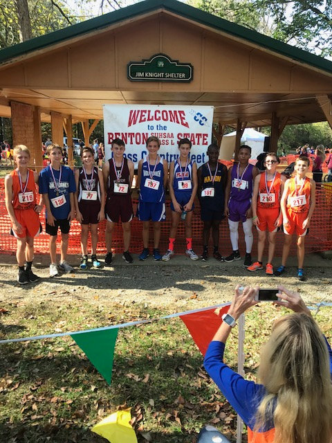2017 Class L Boys Cross Country State Top 10 Individuals