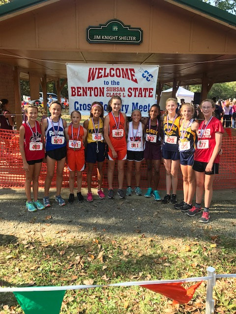 2017 Class L Girls Cross Country State Top 10 Individuals