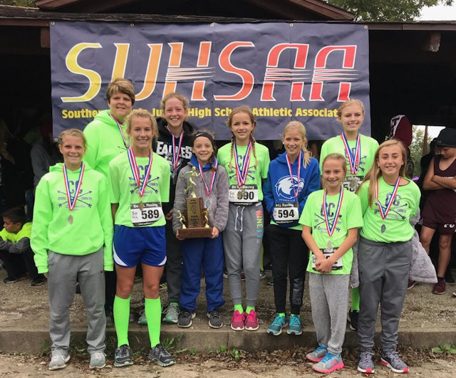 2018 SIJHSAA Class S Girls 4th Place Evansville