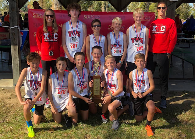 2019 SIJHSAA Boys Cross Country Class L 1st Place Triad