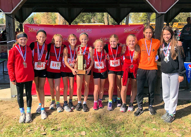 2019 SIJHSAA Girls Cross Country Class L 2nd Place Highland