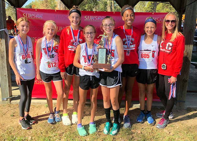 2019 SIJHSAA Girls Cross Country Class L 4 Place Triad
