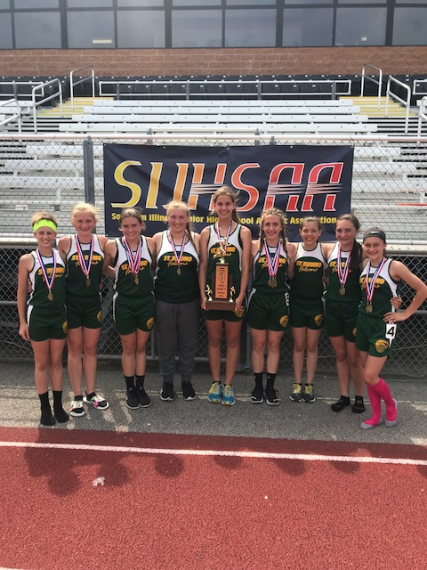2018 St.Bruno Pinckneyville S Girls Track 2nd