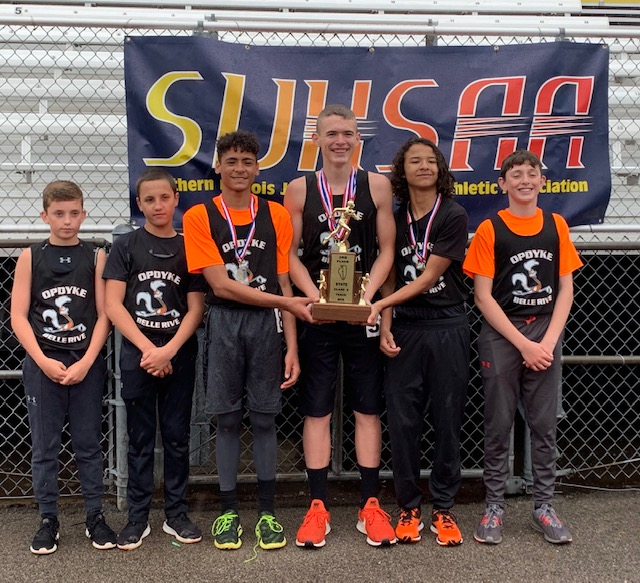 2019 SIJHSAA Class S Boys State Track 3rd Opdyke Belle Rive