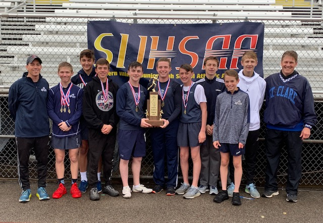 2019 SIJHSAA Class S Boys State Track State Champions Saint Clare