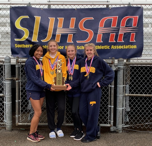 2019 SIJHSAA Class S Girls State Track 3rd Adams Creal Springs